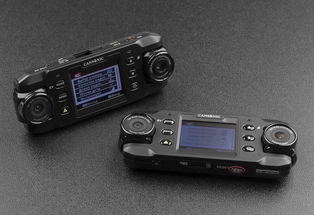 Обзор видеорегистраторов Cansonic Z1 Dual (GPS) и Z1 Zoom (GPS) — два «глаза» лучше, чем один - 18