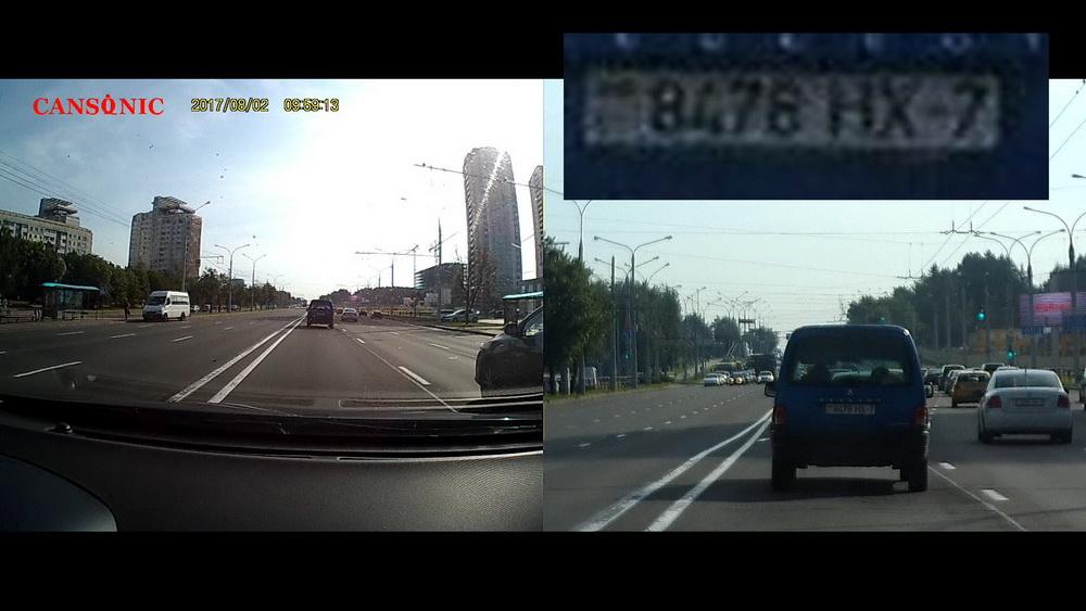 Обзор видеорегистраторов Cansonic Z1 Dual (GPS) и Z1 Zoom (GPS) — два «глаза» лучше, чем один - 27