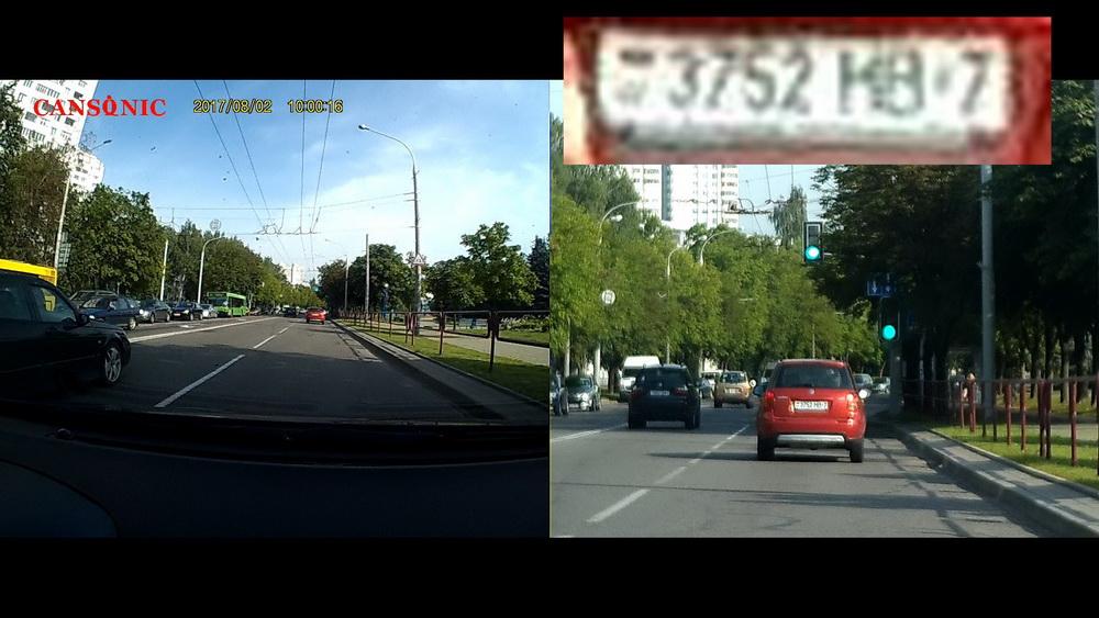 Обзор видеорегистраторов Cansonic Z1 Dual (GPS) и Z1 Zoom (GPS) — два «глаза» лучше, чем один - 29