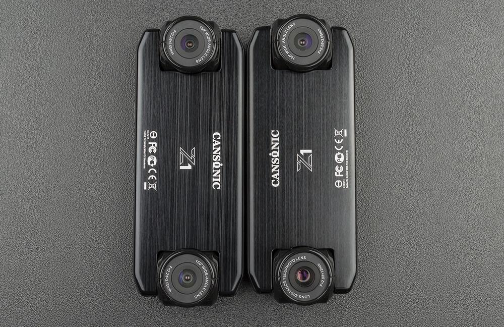 Обзор видеорегистраторов Cansonic Z1 Dual (GPS) и Z1 Zoom (GPS) — два «глаза» лучше, чем один - 5