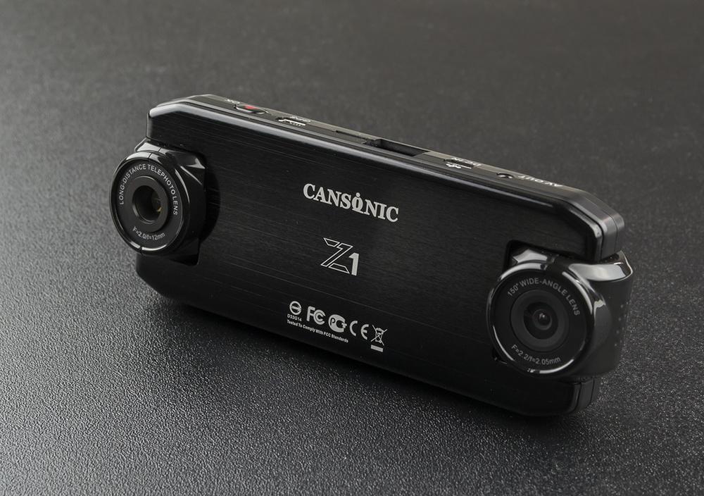 Обзор видеорегистраторов Cansonic Z1 Dual (GPS) и Z1 Zoom (GPS) — два «глаза» лучше, чем один - 9