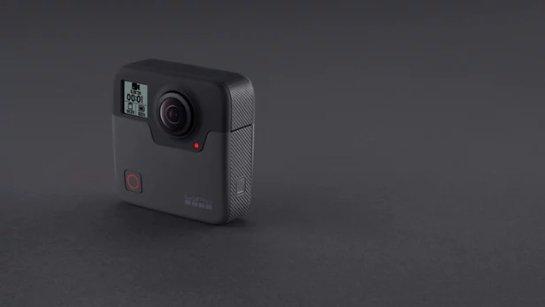 GoPro объявляет о цене для Fusion ballical cameraBack