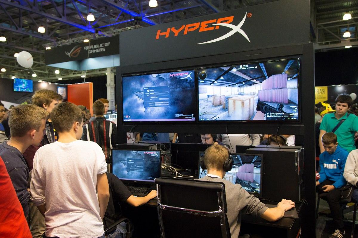 HyperX зажжёт на выставке «Игромир 2017» - 7