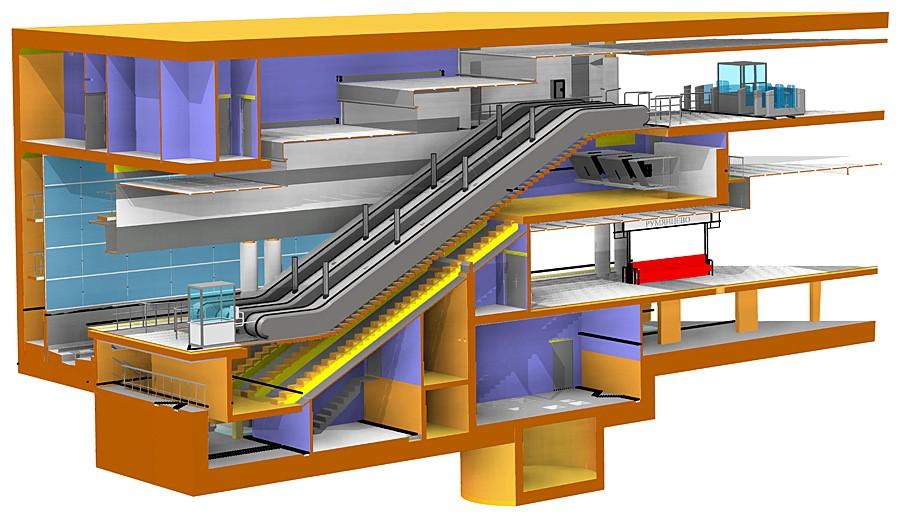 Чем отличается проектирование станции метро от проектирования коттеджа - 2