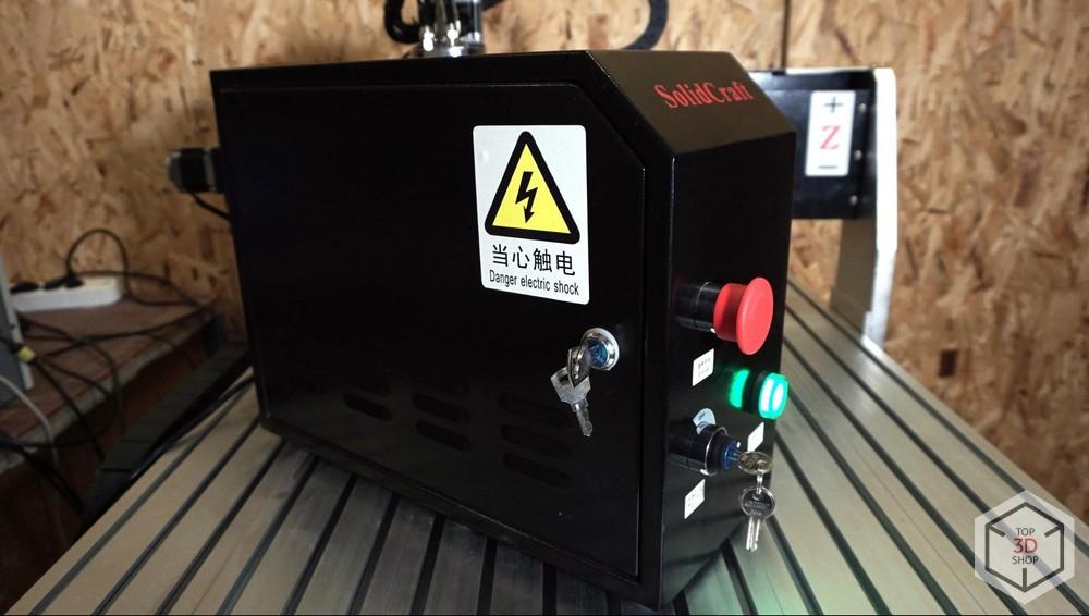 Обзор фрезерного станка с ЧПУ SolidCraft CNC-6090 - 8
