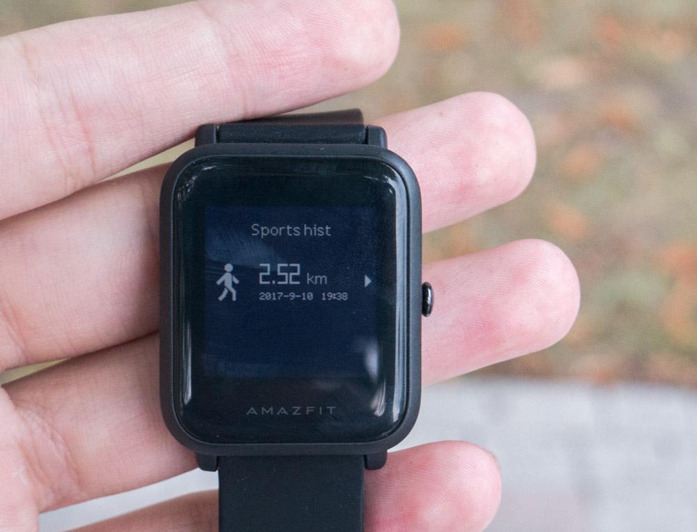 Обзор умных часов Amazfit Bip. Вероятный конкурент Pebble - 6