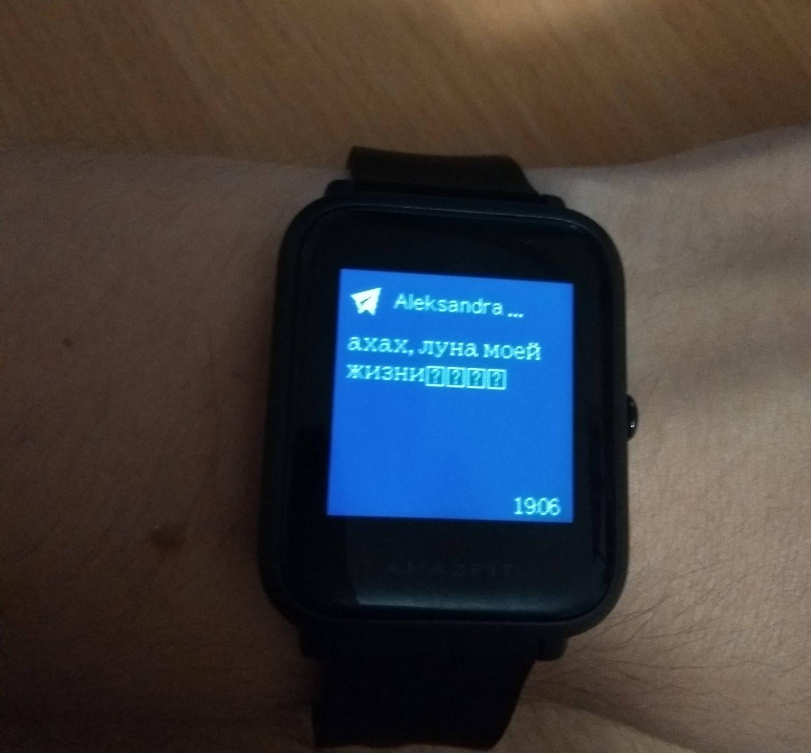 Обзор умных часов Amazfit Bip. Вероятный конкурент Pebble - 7
