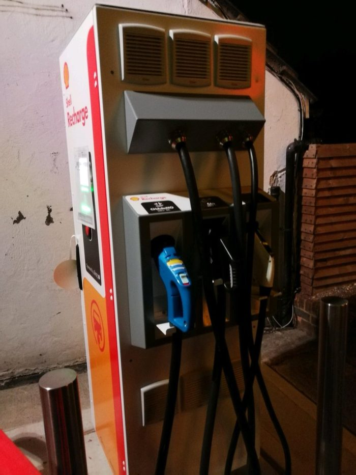 Зарядная станция от Shell - 2