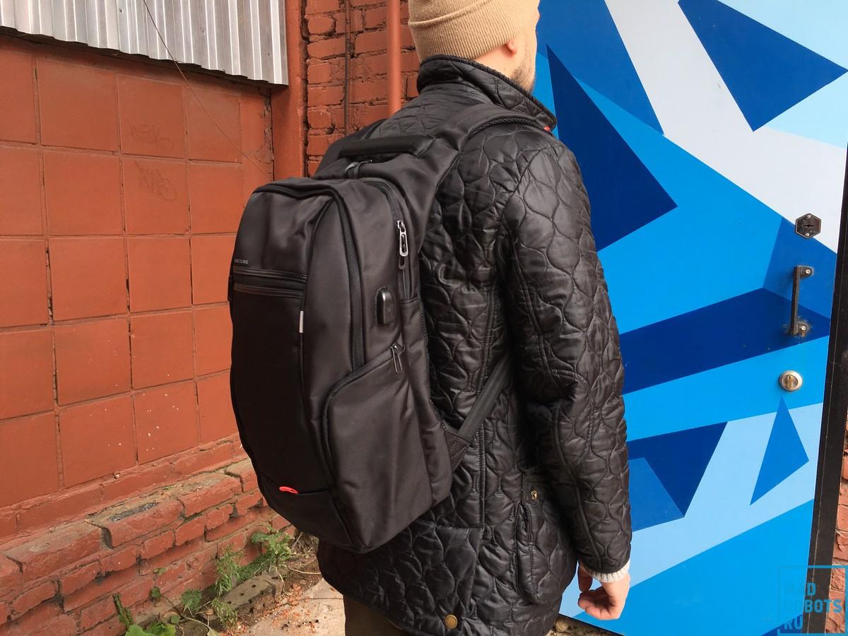 Okira Energy: городской рюкзак и зарядная станция - 1