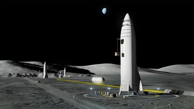 Илон Маск представил гигантскую ракету BFR и описал план марсианского города - 7