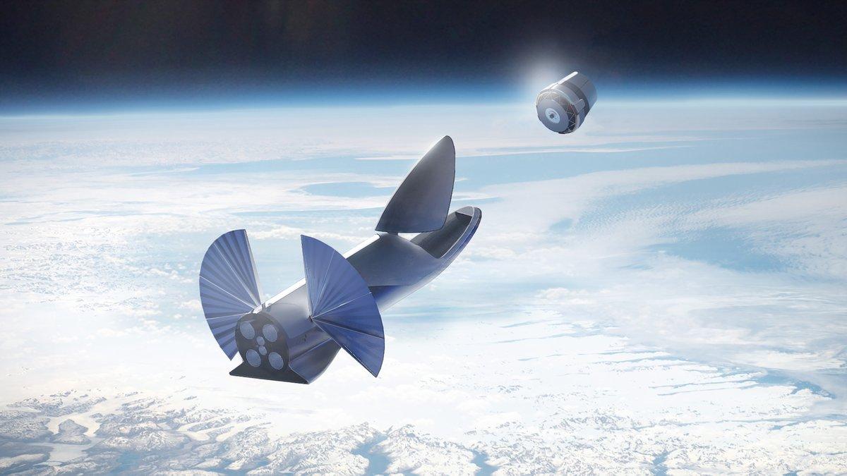 Илон Маск представил гигантскую ракету BFR и описал план марсианского города - 9
