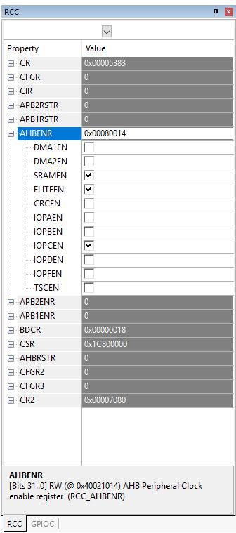 Начинаем изучать STM32: Что такое регистры? Как с ними работать? - 20