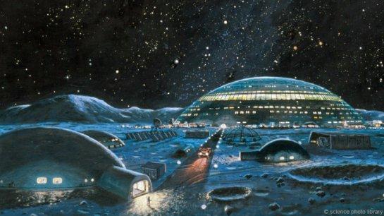 Европейское космическое агентство заложит на Луне деревню