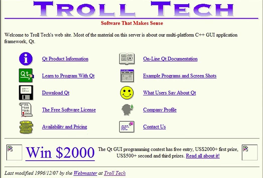 Trolltech Site