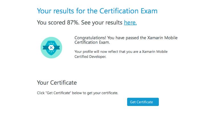 Как я проходил сертификацию в Xamarin University - 5