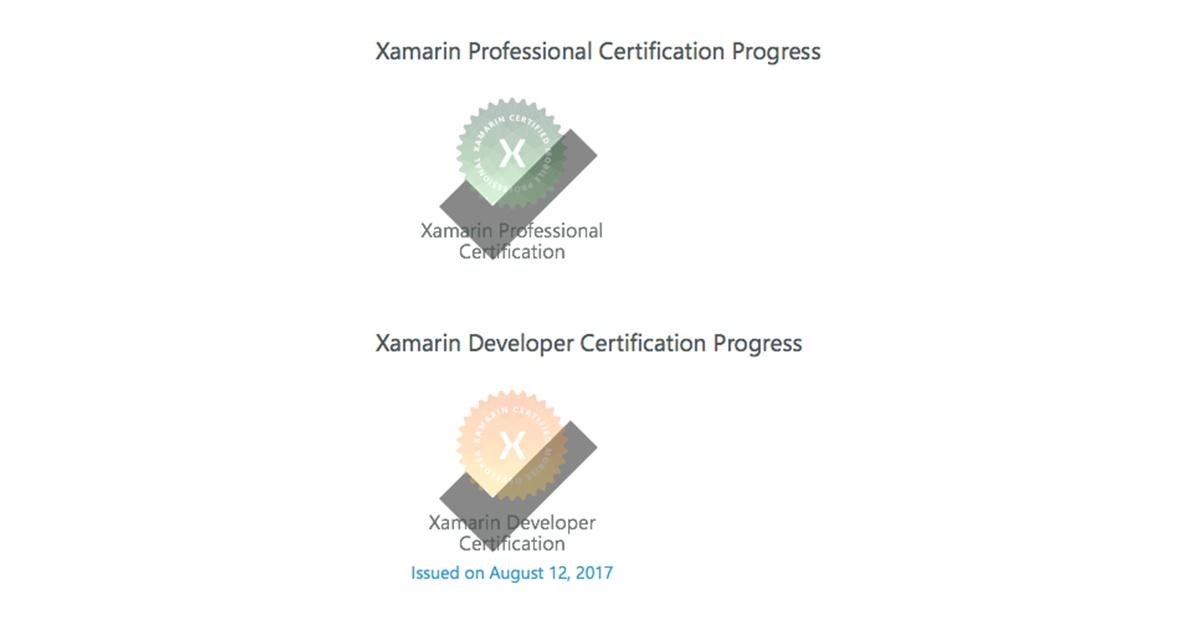 Как я проходил сертификацию в Xamarin University - 8