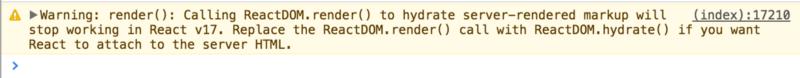Новшества серверного рендеринга в React 16 - 2