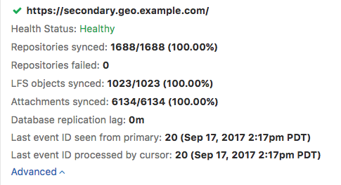 GitLab Geo Improvements