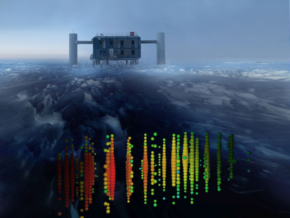 IceCube: гигантский замороженный детектор нейтрино - 1
