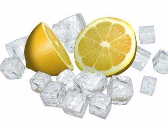 От лимона со льдом можно отравиться