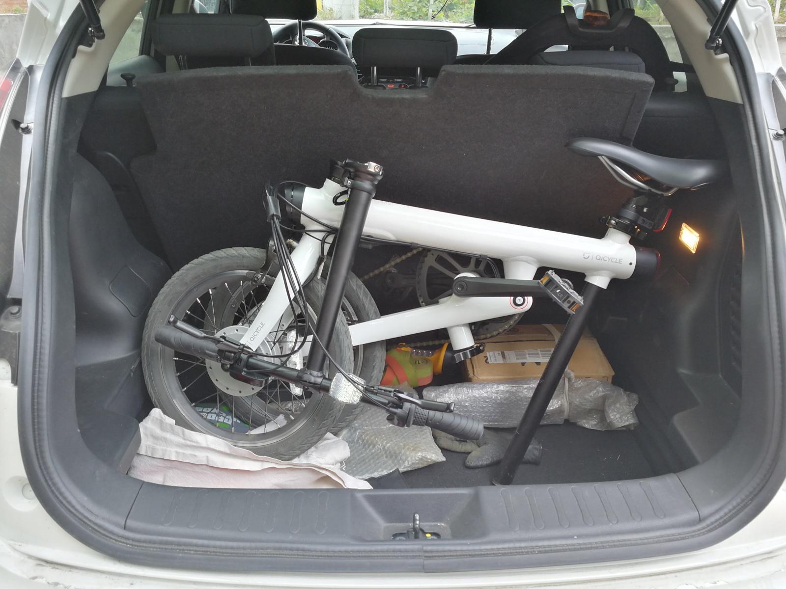 Велосипед для гика — электрический, складной, умный - 5