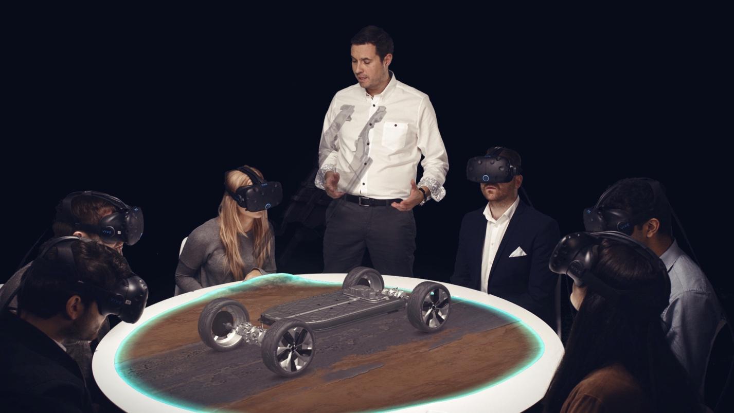 Рабочие станции Dell Precision легли в основу первой глобальной VR-презентации, организованной Jaguar - 1