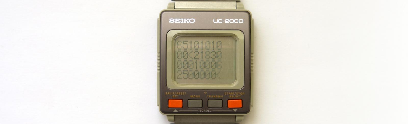 Реверс-инжиниринг первых умных часов Seiko UC-2000 - 9