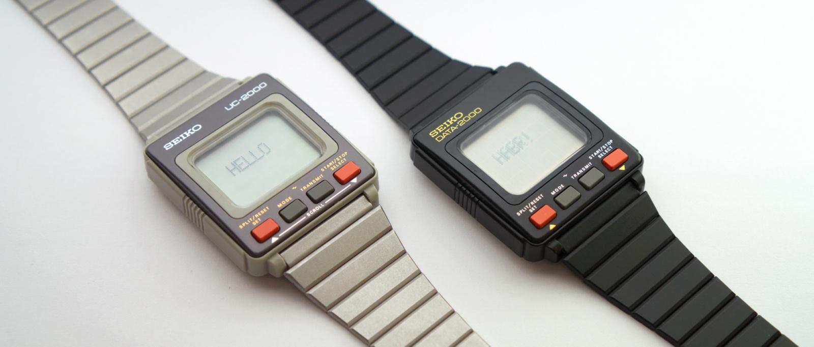 Реверс-инжиниринг первых умных часов Seiko UC-2000 - 1
