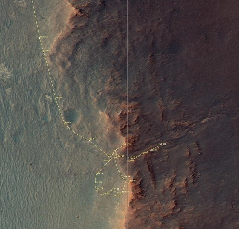 Незаметные «Возможности» в изучении Марса - 24