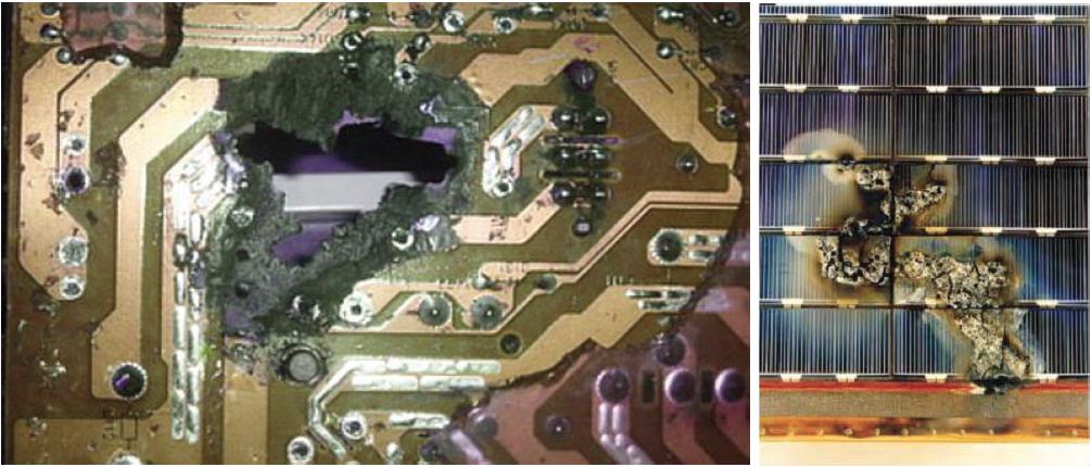Определение областей возникновения электрической дуги в электронике спутниковых систем - 1