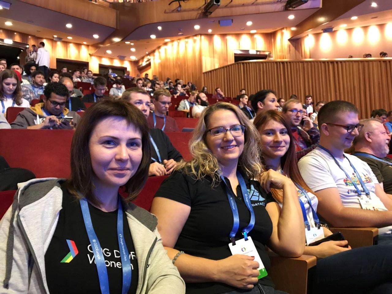 GDG-комьюнити на Google Developer Days - 4