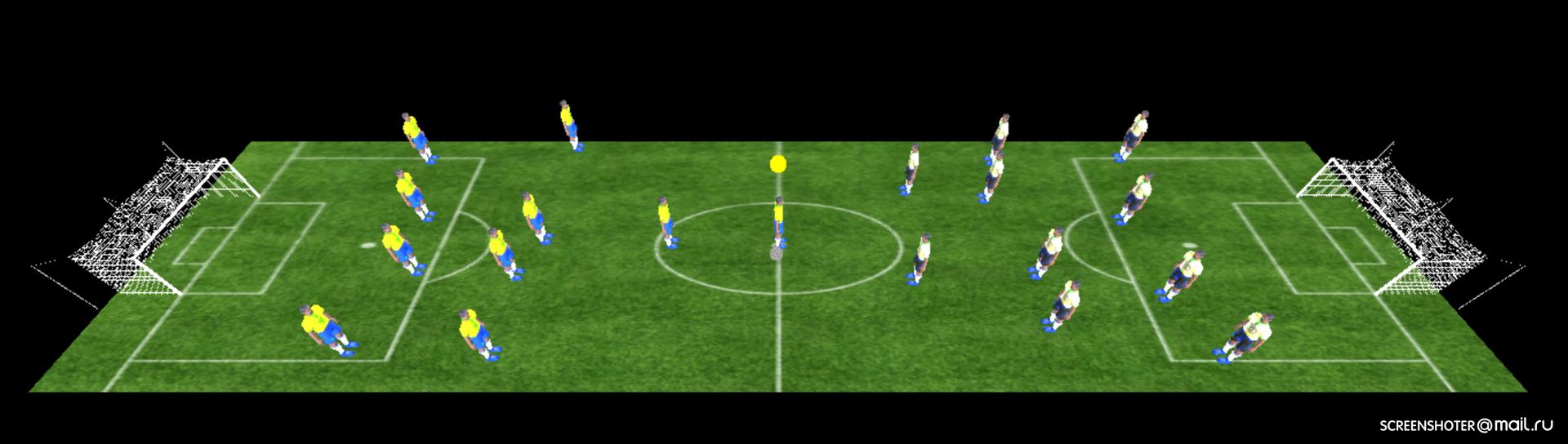 Как я браузерный 3D-футбол писала. Часть 2 - 1