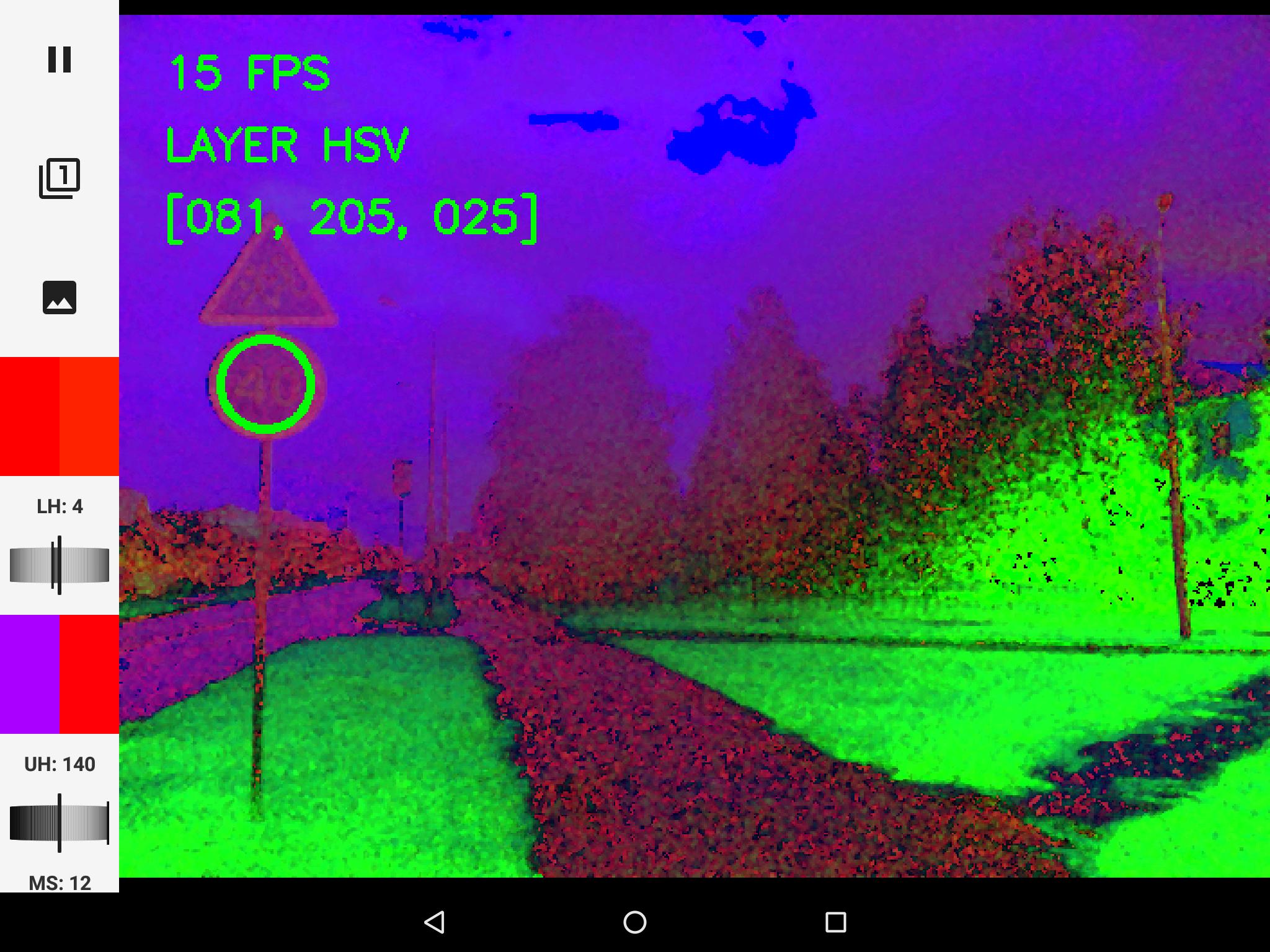 OpenCV. Поиск дорожных знаков методом контурного анализа в Android - 3