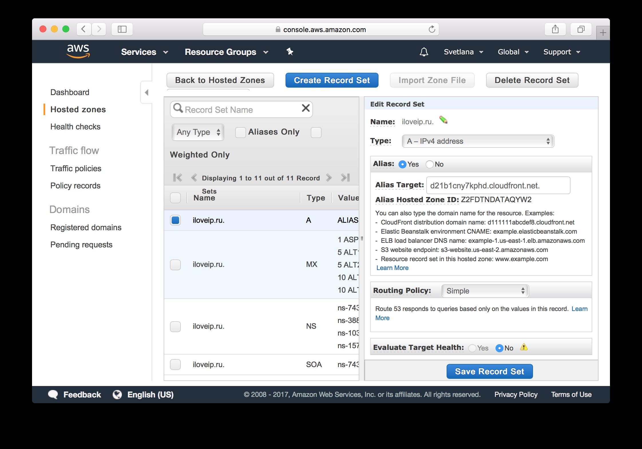 Как получить бесплатный SSL-сертификат от Amazon и переехать на HTTPS на Amazon S3 - 10