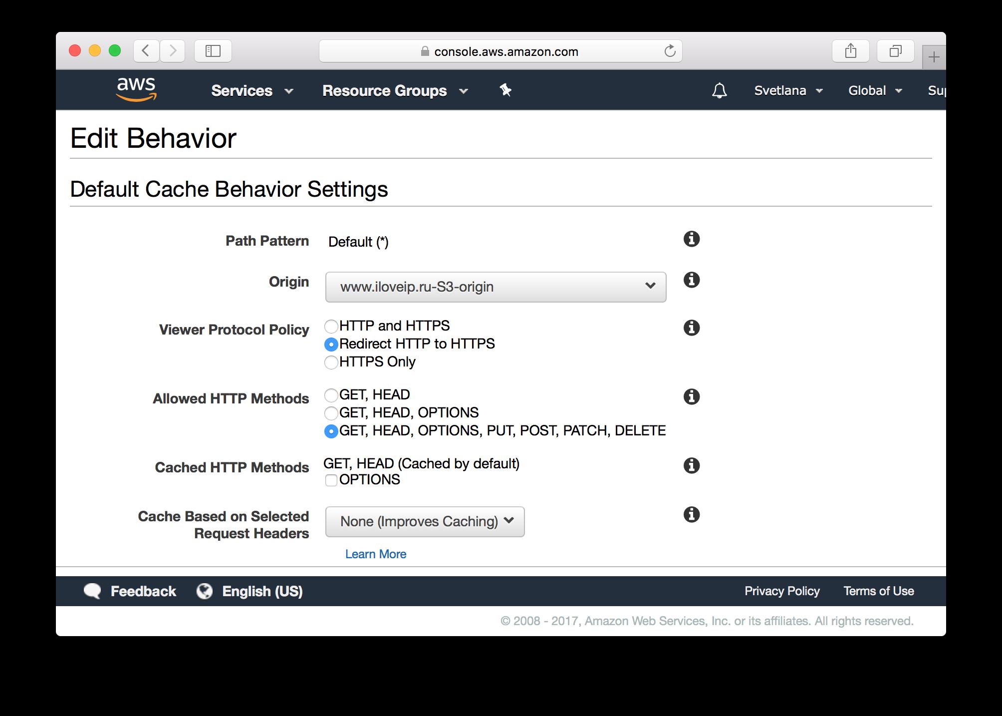Как получить бесплатный SSL-сертификат от Amazon и переехать на HTTPS на Amazon S3 - 11
