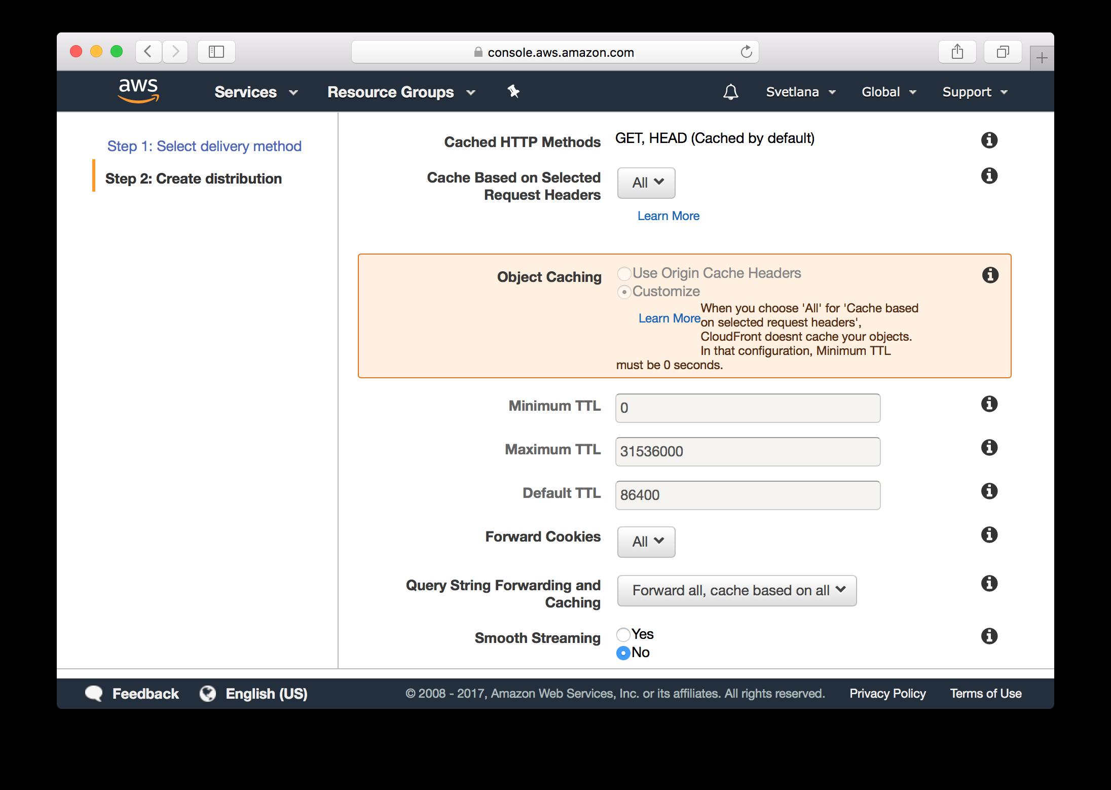 Как получить бесплатный SSL-сертификат от Amazon и переехать на HTTPS на Amazon S3 - 8