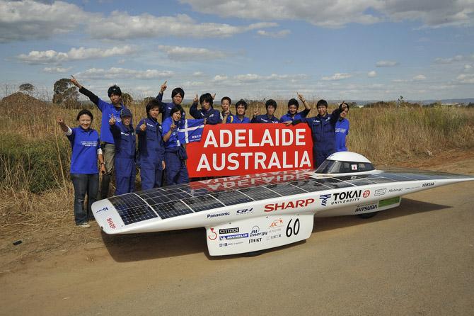 В Австралии началась гонка машин на солнечной тяге - 5