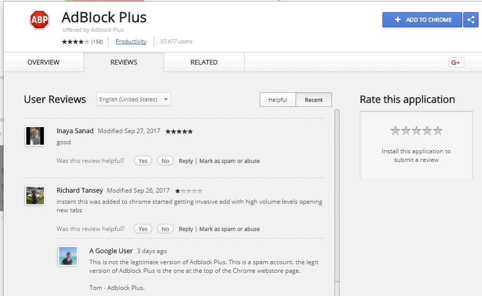Более 37 000 пользователей Chrome установили фальшивое расширение AdBlock Plus - 2