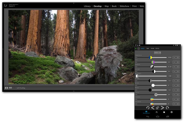 Пользователю Control Room доступны функции как редактирования, так и управления изображениями