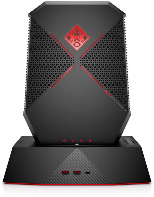 Цена настольного ПК Omen X на процессоре Intel Core i7 седьмого поколения с 3D-картой GTX 1080 равна $2500