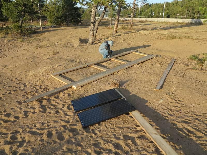 Путешествие на Байкал или, Как я собрал солнечную электростанцию на берегу - 14