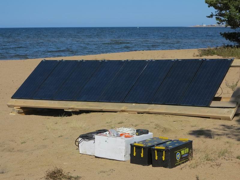 Путешествие на Байкал или, Как я собрал солнечную электростанцию на берегу - 16
