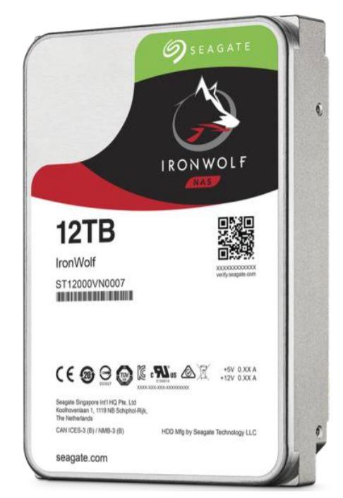 HDD Seagate серии IronWolf объемом 12 ТБ