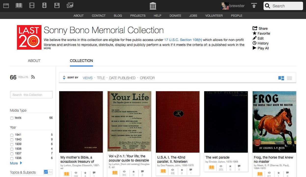 Internet Archive добился права сканировать книги, изданные с 1923 по 1941 - 1