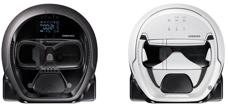Samsung сделала из Дарта Вейдера пылесос