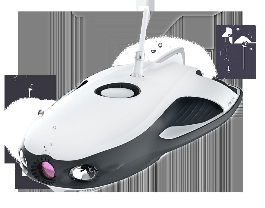 Если бы DJI делали эхолот: подводный дрон PowerRay - 5