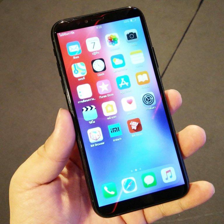 Смартфон iMI X хочет быть похожим на iPhone X и устройство Xiaomi