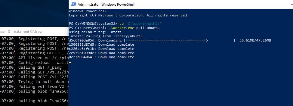 Запуск контейнеров с Ubuntu на Windows - 13