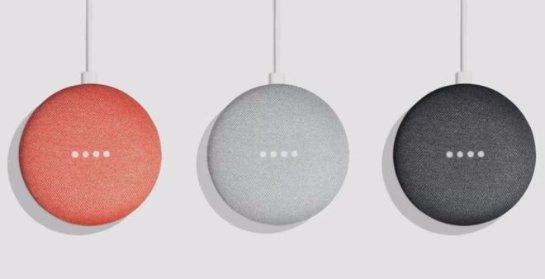 Google отключает функцию касания на Home Mini