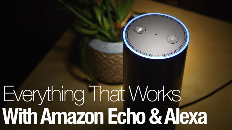 Экосистема Amazon Alexa — обзор всего, что может работать с Alexa Echo - 1